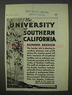 1935 University of Southern California Ad - Summer