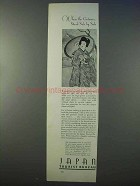 1934 Japan Tourism Ad - Centuries Stand Side by Side