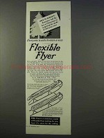 1934 Flexible Flyer Sled Ad - Everyone Wants
