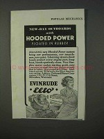 1934 Evinrude Elto Outboard Motor Ad - Hooded Power