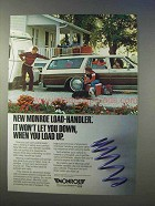 1985 Monroe Load-Handler Springs Ad - Won't Let Down
