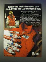 1980 Gabriel Shocks Ad - Wearing This Fall