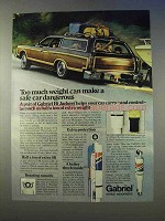 1979 Gabriel Shocks Ad - Too Much Weight Dangerous