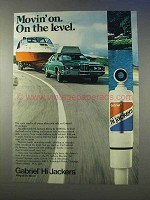 1976 Gabriel Hi Jackers Shocks Ad - On The Level
