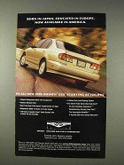 1999 Infiniti G20 Car Ad - Born in Japan