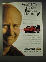 1994 Enterprise Rent-A-Car Ad - I Was In A Jam