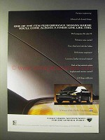 1993 Eagle Vision Car Ad - Few Performance Sedans