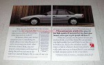 1991 Saturn SL Car Ad - Give People a Low Price
