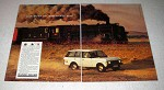 1984 Land Rover Range Rover Ad - Adventure Begins