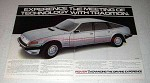 1982 Rover 3500 SE Car Ad - Technology Tradition