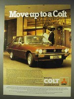 1979 Mitsubishi Colt Sigma 2000 Car Ad - Move Up To