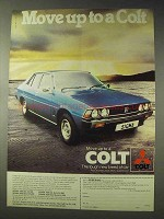 1978 Mitsubishi Colt Sigma Car Ad - Move Up To