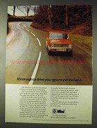 1973 Leyland Mini Car Ad - Drive You Round the Bend