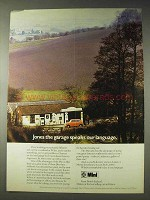 1973 Leyland Mini Car Ad - Garage Speaks Our Language