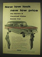1959 Vauxhall Victor Series 2 Estate Car Ad - New Look