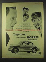1959 Morris Minor 1000 Car Ad - Money in the Bank