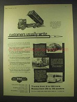 1959 Leyland Truck Ad - Hippo, Scammell Highwayman
