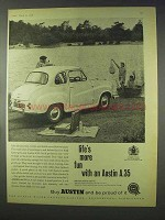1958 Austin A.35 Car Ad - Life's More Fun