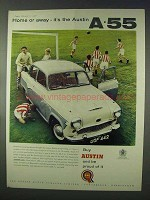 1958 Austin A.55 Car Ad - Home or Away