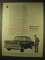 1958 Vauxhall Victor Car Ad - Britain's Export