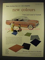 1958 Vauxhall Cresta Car Ad - Better New Colours