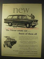 1958 Vauxhall Victor Estate Car Ad - Finest of Them All