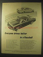 1958 Vauxhall Cresta Car Ad - Everyone Drives Better