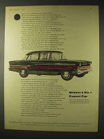 1958 Vauxhall Victor Car Ad - Britain's No. 1 Export