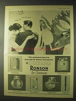 1957 Ronson Essex, Viking, Capri Cigarette Lighter Ad