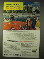 1955 Hertz Rent-A-Car Ad - See More
