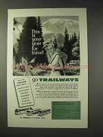1957 Trailways Bus Ad - Your Year