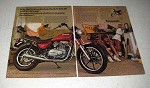 1980 Kawasaki KZ440 LTD Motorcycle Ad