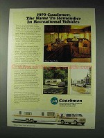 1979 Coachmen Deluxe Travel Trailer Ad
