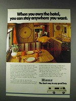 1979 Itasca Motor Home Ad - When You Own The Hotel
