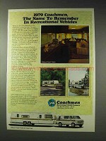 1979 Coachmen Deluxe Travel Trailer, Leprechaun RV Ad