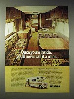 1976 Itasca Motor Home Ad - Never Call It a Mini