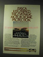 1976 Itasca Motor Home Ad - Tripled Protection