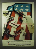 1972 Harley-Davidson Motorcycle Parts Ad - Quality