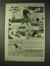 1949 Whizzer Motor Bike Ad - Put a Whizzer on It!