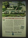 1937 Sherwin-Williams Paint Ad - It's a Proud Home