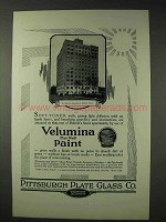 1928 Pittsburgh Plate Glass Velumina Flat Wall Paint Ad