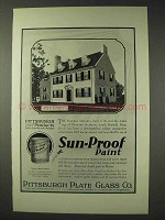 1926 Pittsburgh Plate Glass Sun-Proof Paint Ad