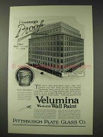 1925 Pittsburgh Plate Glass Velumina Wall Paint Ad
