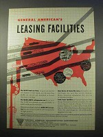 1953 General American Transportation Ad - Facilities
