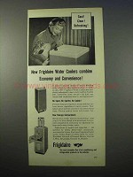1953 Frigidaire Water Coolers Ad - Economy Convenience