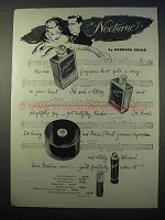 1953 Nocturne Fragrance Ad - by Barbara Gould