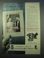 1953 Polaroid Land Cameras Ad- Best Pictures You Took