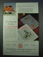 1986 International Paper Company Ad - Walter Cronkite