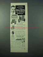 1953 Hobart Arc Welding Ad - Money Making Business
