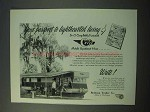 1953 Redman Trailer New Moon Mobile Home Ad - Living